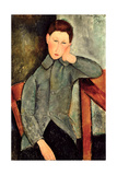 The Boy, 1919 Giclee Print by Amedeo Modigliani