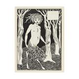 A Faun Giclee Print by Aubrey Beardsley