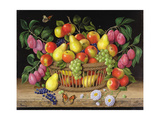 Apples, Pears, Grapes and Plums, 1999 Giclee Print by Amelia Kleiser