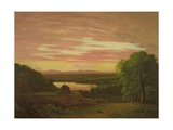 Landscape, Sunset, 1838 Giclee Print by Asher Brown Durand