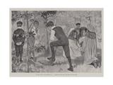 Hunting the Fox Giclee Print by Arthur Herbert Buckland