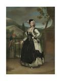 Portrait of Isabel Parreno Arce And, Marquesa De Llano, C.1771-2 Giclee Print by Anton Raphael Mengs