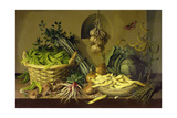 Cabbage, Peas and Beans, 1998 Giclee Print by Amelia Kleiser