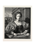 Portrait of a Lady Giclee Print by  Andrea del Sarto