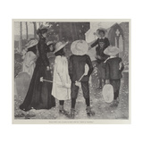 The Canterbury Pilgrims Giclee Print by Arthur Herbert Buckland