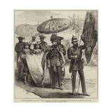 The Grand Chapter of the Star of India at Calcutta Giclee Print by Arthur Hopkins