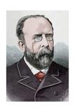 Teodoro Llorente Olivares (1836-1911), Spanish Writer Giclee Print by Arturo Carretero y Sánchez