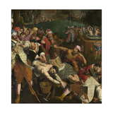 The Martyrdom of Saints Crispin and Crispinian Giclee Print by Ambrosius Francken the Elder