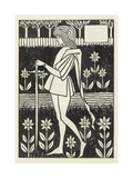 A Page Giclee Print by Aubrey Beardsley