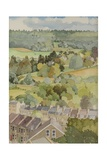 Sickert's House, Bathampton Giclee Print by Anna Teasdale