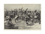 The Ghost Dance of the Sioux Indians in North America Giclee Print by Amedee Forestier