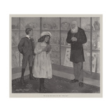 The Sale of Antiquities Giclee Print by Arthur Herbert Buckland