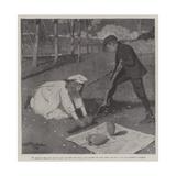 The Sale of Antiquities Giclee Print by Arthur Herbert Buckland
