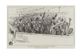 The Great Unionist Meeting at the Opera-House, Haymarket Giclee Print by Amedee Forestier