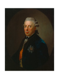 Friedrich Heinrich Ludwig, Prince of Prussia, after 1785 Giclée-tryk af Anton Graff