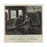 First Person Singular Gicléetryck av Hopkins, Arthur