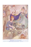 The Princess and the Swineherd Giclee Print by Anne Anderson