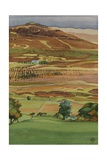 Across the Glen, Dervaig, Isle of Mull Giclee Print by Anna Teasdale