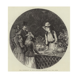 The Kermesse at Nice, Selling Flowers for the Poor Giclee Print by Arthur Hopkins