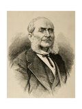 Jose Manjarres Y De Bofarull (1816-1880). Spanish Lawyer and Archaeologist. Giclee Print by Arturo Carretero y Sánchez