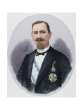 Matias Lopez Lopez (1825-1891). by Arturo Carretero (1852-1903). Coloured Giclee Print by Arturo Carretero y Sánchez