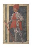 Farinata Degli Uberti (D.1264) from the Villa Carducci Series of Famous Men and Women Giclée-tryk af Andrea Del Castagno