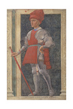 Farinata Degli Uberti (D.1264) from the Villa Carducci Series of Famous Men and Women Giclee Print by Andrea Del Castagno