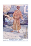 The Merchant's Son Finds the Princess Giclee Print by Anne Anderson
