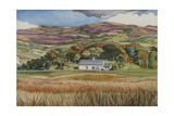 Johnny Mcdonald's House, Mull Giclee Print by Anna Teasdale
