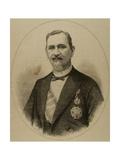 Matias Lopez Lopez (1825-1891). by Arturo Carretero (1852-1903). Galicia, Spain Giclee Print by Arturo Carretero y Sánchez