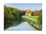 The Mill on the Stour, 2004 Giclee Print by Anthony Rule