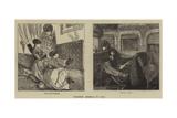 Crossing America by Rail Giclee Print by Arthur Boyd Houghton