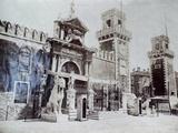 Arsenale, Venice, C.1870 Giclee Print by Carlo Naya