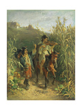 Gipsies Giclee Print by August Xaver Karl Von Pettenkofen