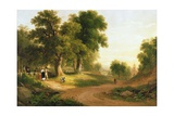Sunday Morning, 1839 Giclee Print by Asher Brown Durand