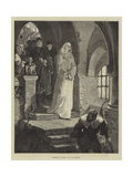 Margaret in Prison Giclee Print by August von Kreling