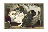 The Death of Gericault Giclee Print by Ary Scheffer