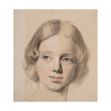 Head of Emma Sandys Giclee Print by Anthony Frederick Augustus Sandys