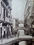 Bridge of Sighs, Venice, C.1870 Giclee Print by Carlo Naya