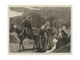 The War in the East, Georgian Women Giclee Print by Arthur Hopkins
