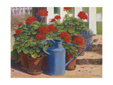 Blue Watering Can, 1995 Giclee Print by Anthony Rule