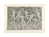 Battle of Nude Men, C. 1470 - 1475 Giclee Print by Antonio Pollaiuolo