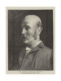 Mr Henry Charles Burdett Giclee Print by Arthur Hacker