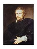 Portrait of Johannes Baptista Franck Giclee Print by Antony Van Dyck