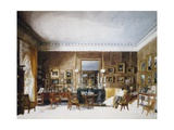 Living Room of Duchess of Berry at Tuileries Giclee Print by Auguste Simon Garneray