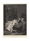Le Livre Serieux Giclee Print by Auguste Toulmouche