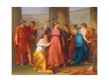 Achilles Discovered Giclee Print by Angelica Kauffmann