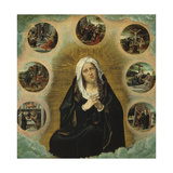 The Seven Sorrows of Mary Giclee Print by Bernard van Orley