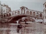 Rialto Bridge, Venice, C.1870 Giclee Print by Carlo Naya
