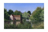 Mill on the Stour II, 2008 Giclee Print by Anthony Rule